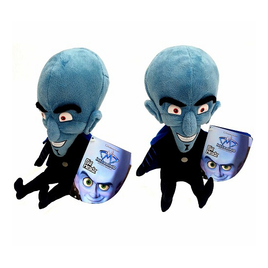 Alien knuffel met groot hoofd