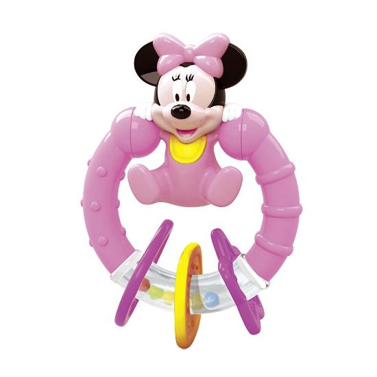 Baby bijtring en rammelaar Minnie Mouse