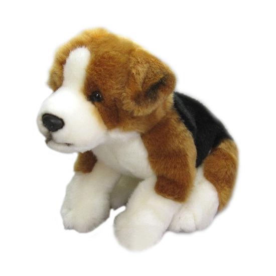 Beagle knuffel zittend 23 cm