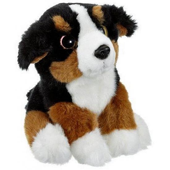 Berner Sennen honden knuffel 20 cm