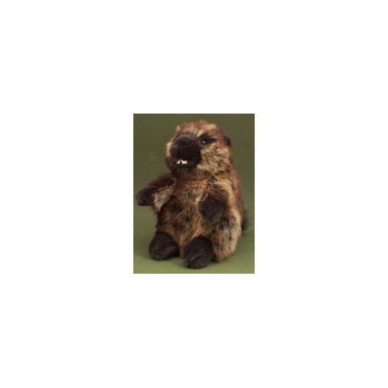 Bever knuffel bruin 24 cm