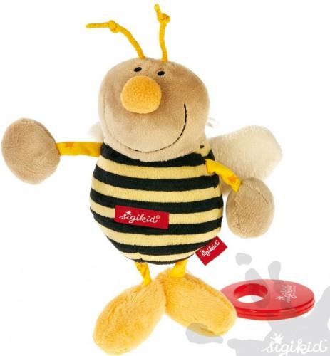 Bijenknuffel met muziek 13 cm
