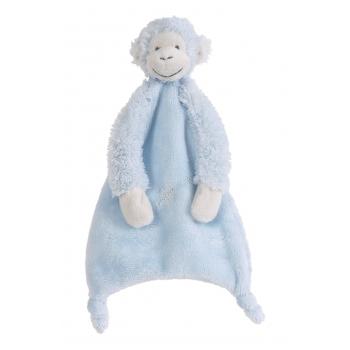 Blauwe Mickey tuttel aapje 28 cm