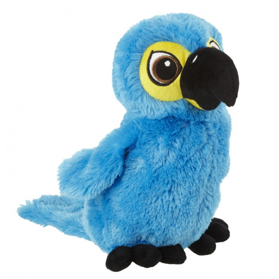 Blauwe papegaai knuffels