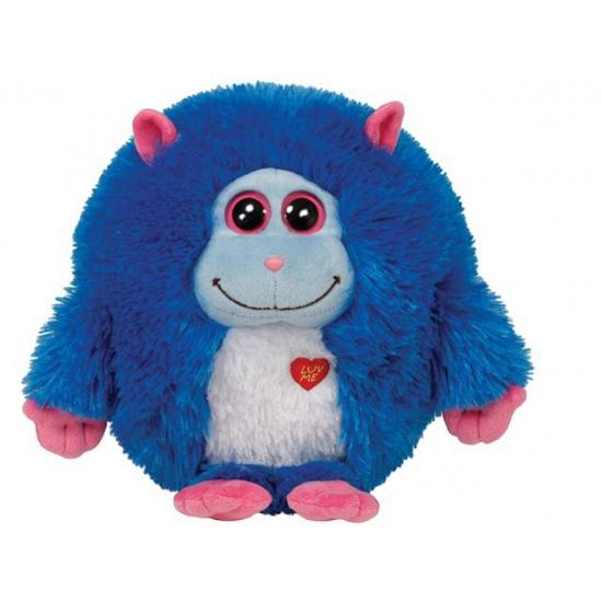 Blauwe Ty Beanie knuffel monster Jerry 24 cm