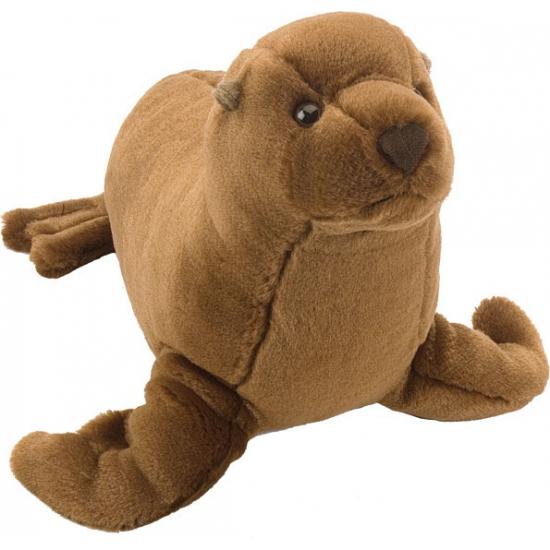 Bruine knuffel zeeleeuw 20 cm