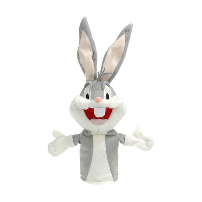 Bugs Bunny handpoppen van pluche