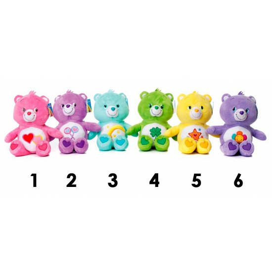 Care Bears paarse knuffelbeer 60 cm