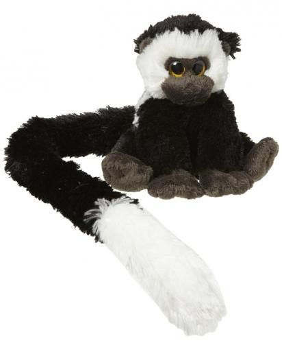 Colobus aap knuffel 16 cm