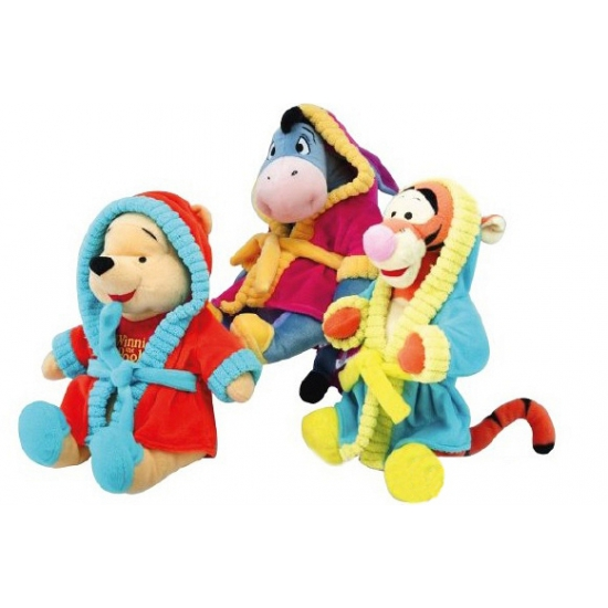 Disney pluche Poeh in badjas 30 cm