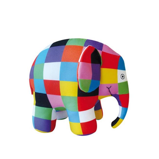 Elmer de olifant van pluche 40 cm