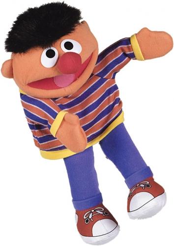 Ernie handpoppen