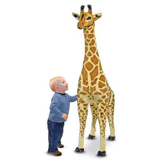 Extra grote giraffe knuffel