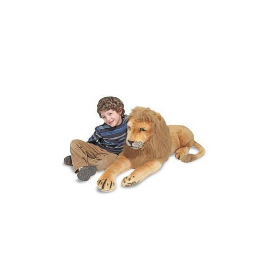 Extra grote leeuwen knuffels 190 cm