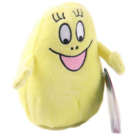 Gele bean bag knuffels van Barbabee 12 cm