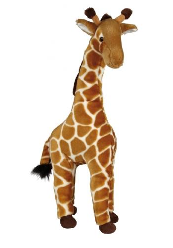 Giraffe knuffel licht bruin 60 cm