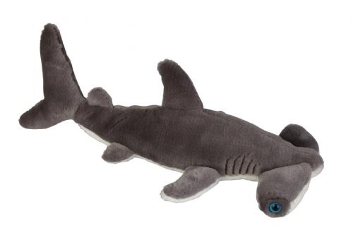 Grijze haaien knuffel 36 cm