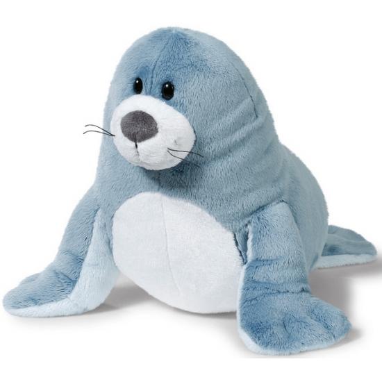 Grijze pluche zeehonden knuffel 35 cm