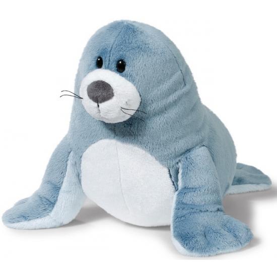 Grijze pluche zeehonden knuffel 50 cm