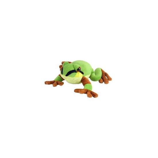 Groene kikker knuffeltje 18 cm