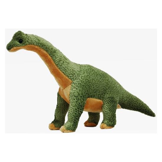 Groene knuffel brachiosaurus 43 cm