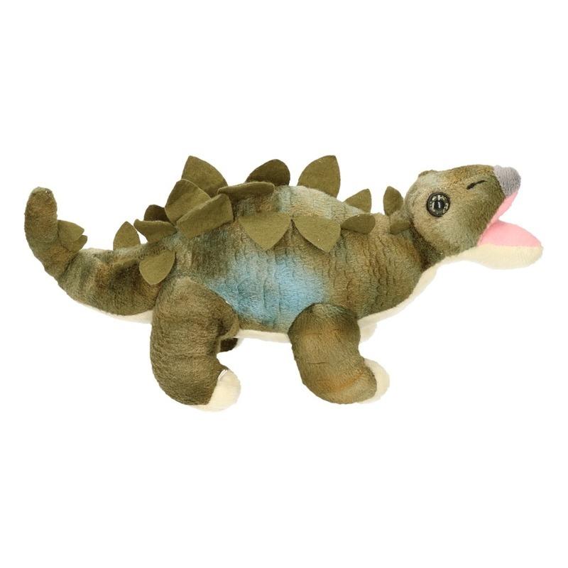 Groene Stegosaurus knuffels 30 cm