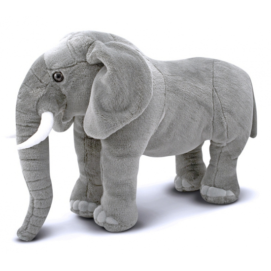 Grote knuffel olifant 68 cm