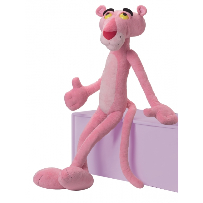 Grote Pink Panther knuffels 85 cm