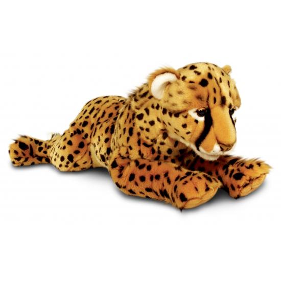 Grote pluche knuffel cheetah 100 cm