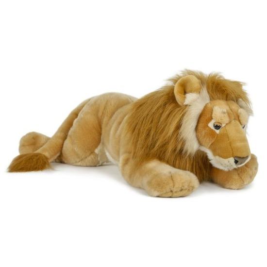 Grote pluche knuffel leeuw 71 cm