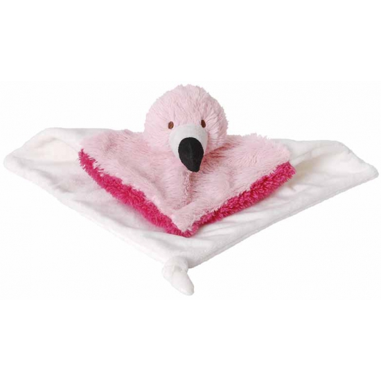 Happy Horse knuffel doekje flamingo 24 cm