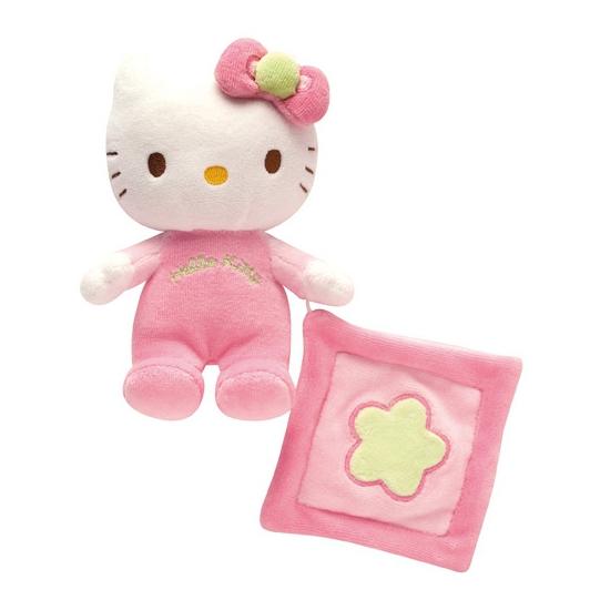 Hello Kitty knuffel en tuttellapje