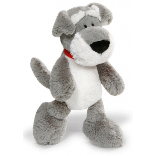 Honden knuffels pluche Schnauzer 25 cm