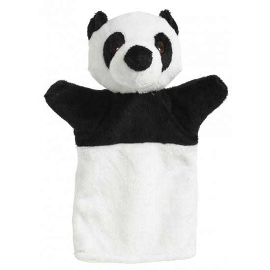 Kinder handpoppen panda 22 cm