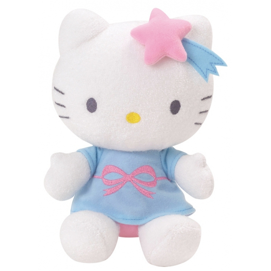Kinder knuffel Hello Kitty lichtgevend