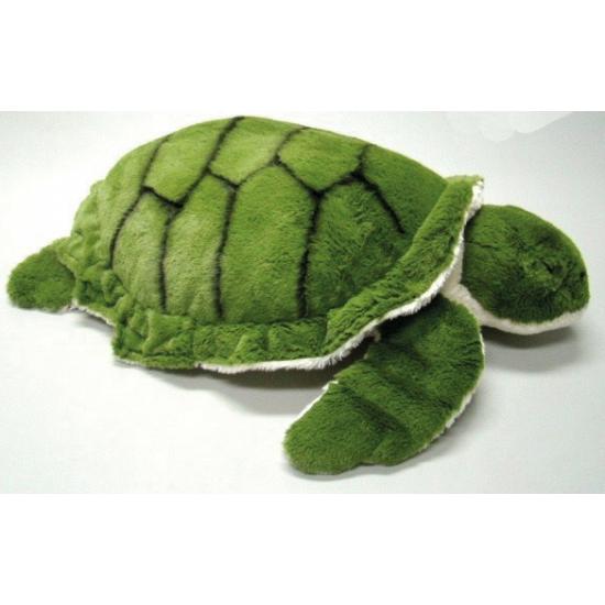 Kinder knuffel schildpad 50 cm