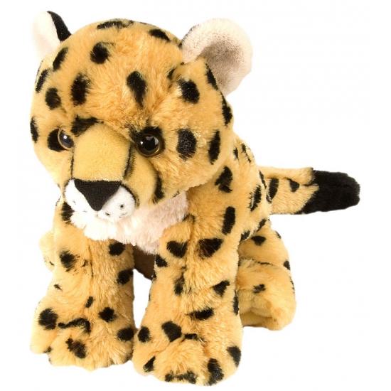 Kinder knuffels cheetah welpje 30 cm
