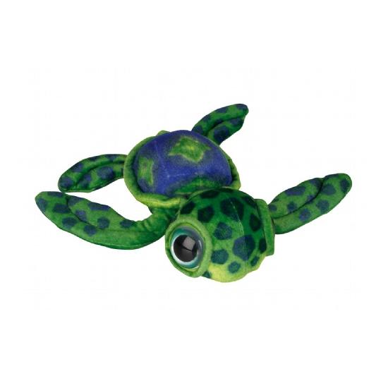 Kinderknuffel schildpad groen 39 cm