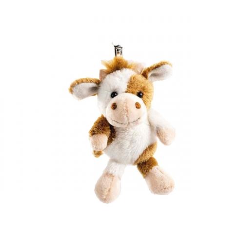 Klein koeien knuffeltje 10 cm