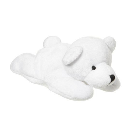 Kleine knuffel ijsbeer 13 cm