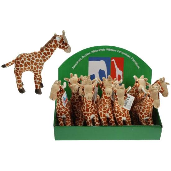 Knuffel giraffe 24 cm