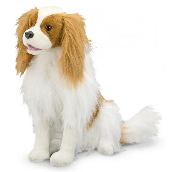 Knuffel hond Cavalier King 30 cm