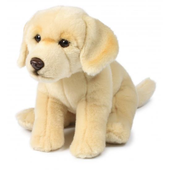 Knuffel hond creme labrador 26 cm