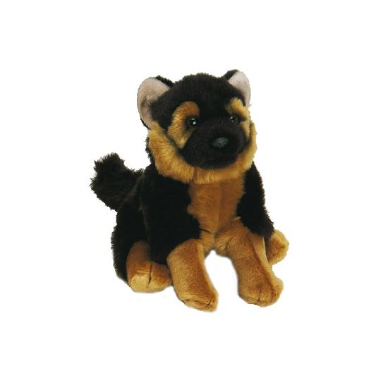 Knuffel hond Duitse Herder 20 cm