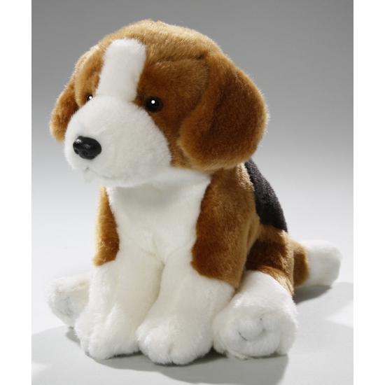 Knuffel hondje Beagle 18 cm