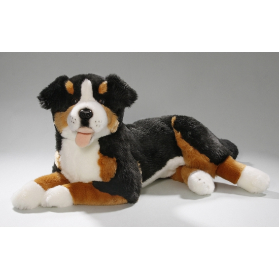 Knuffel hondje Berner Sennen 42 cm