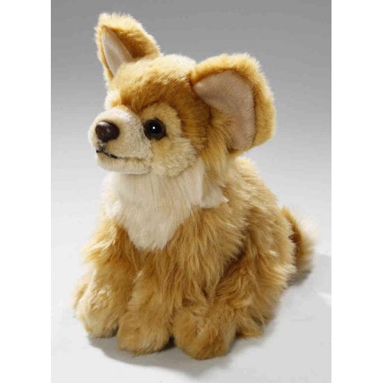Knuffel hondje bruine Chihuahua 17 cm