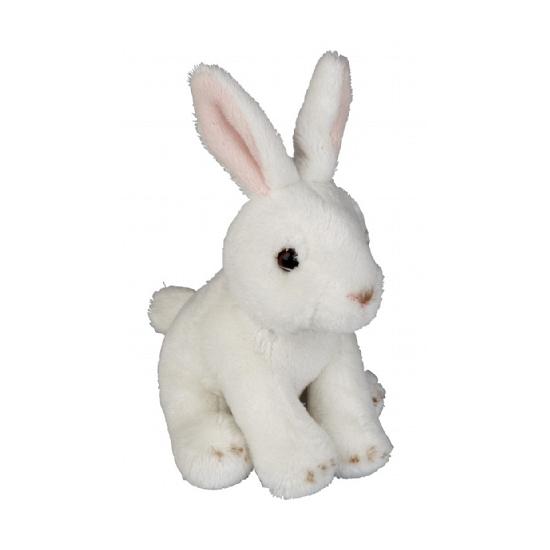 Knuffel konijntje wit 15 cm