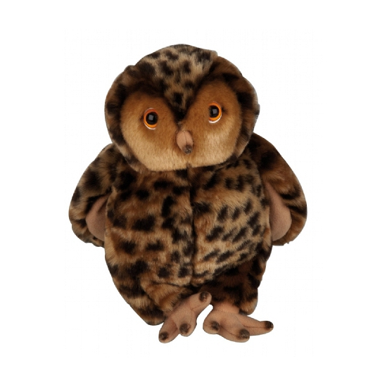 Knuffel oehoe uil 23 cm