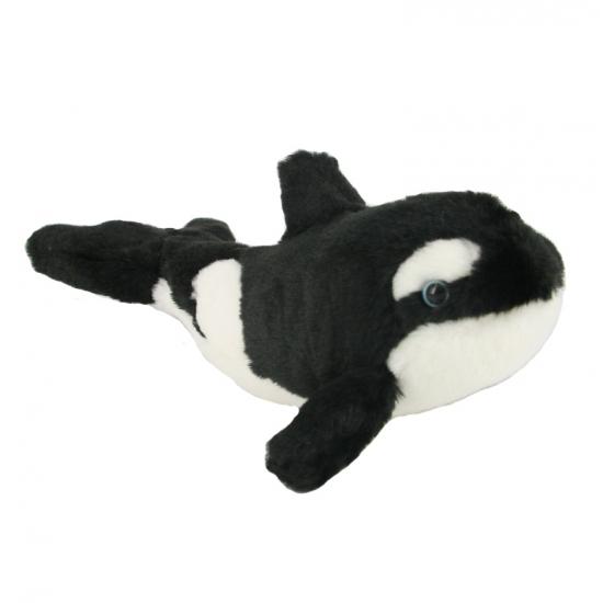 Knuffel orka 18 cm